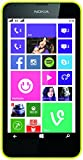 Nokia Lumia 630 Dual-SIM Smartphone (11,4 cm (4,5 Zoll) Touchscreen, 5 Megapixel Kamera, HD-Ready Video, Snapdragon 400, 1,2GHz Quad-Core, Windows Phone 8.1) gelb