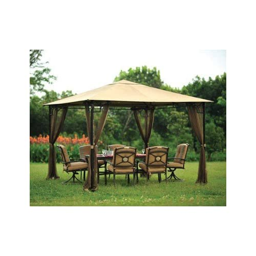 Living Accents Gazebo Mosquito Netting Outdoor Furniture