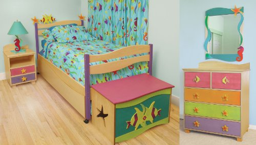 Image of Room Magic Tropical Sea Bedroom Set Kids Bed (RM139-TS)