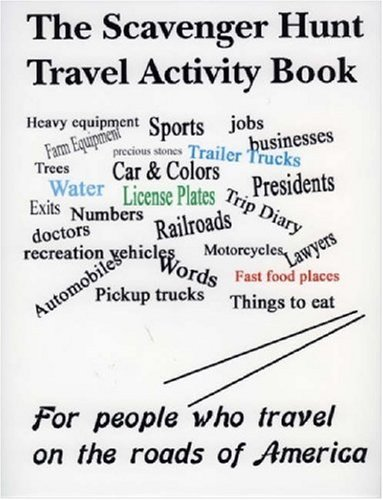 The Scavenger Hunt Travel Activity Book