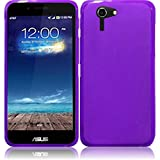 Super Purple Premium TPU Skin Case Cover Protector for Asus Padfone X (by AT&T) with Free Gift Reliable Accessory Pen