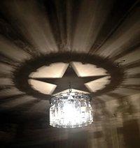 Texas Star Shadow Bottle Chandelier - - Amazon.com