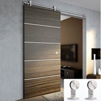 TCBunny 6 Ft 7 Inch Modern Stainless Steel Interior ...
