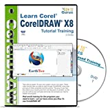 Corel CorelDRAW X8 Tutorial Training on 2 DVDs