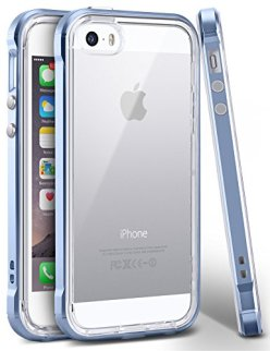 iPhone-5-Case-Ansiwee-Reinforced-Frame-Fusion-Series-Scratch-Resistant-Clearback-Cover-Dual-Bumper-Soft-Rubber-TPU-Bumper-Hybrid-Protection-Shock-Absorption-Case-for-Apple-iPhone-5-5S-SE