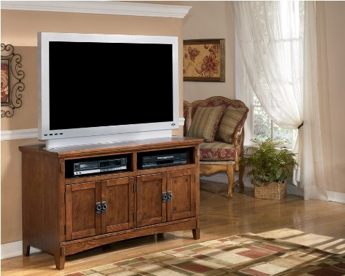 Image of Brown 50 inch TV Stand (ASLYW319-28)