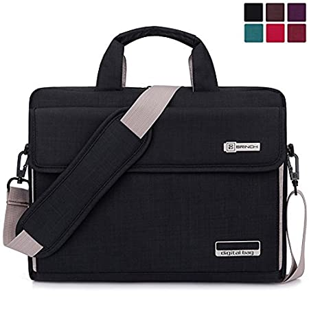 Why should take this bag ? This Brinch laptop bag offers a simple and yet fashionable way to protect your Laptop / Notebook / MacBook / Ultrabook / Chromebook Computers while you are on the go. Built for Protection The safety of your laptop ...
