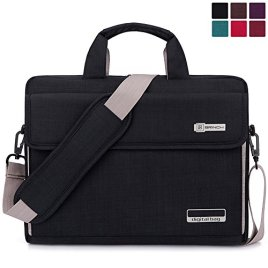BRINCH-New-Style-Oxford-Fabric-Unisex-Universal-Luxury-Portable-Laptop-Sleeve-Case-Carrying-Messenger-Bag-Shoulder-Briefcase-Handbag-For-Laptop-Notebook-MacBook-Ultrabook-Chromebook-Computers-Apple-Ac