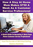 How A Stay At Home Mom Makes 0 A Week As A Customer Service Professional: A Quick Guide to Becoming a Work at Home Customer Service Professional