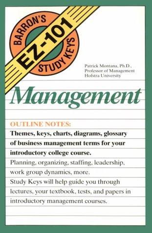 Management (Barron's Ez-101 Study Keys)