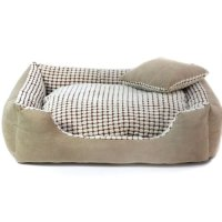 COLORFULPETS Hair Resistant Corn Kernels Suede Dog Bed ...