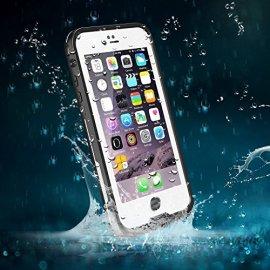 IPhone-66s-Waterproof-case-Easylife-Elegante-Adventure-Series-IP68-Certificato-Custodia-Impermeabile-Anti-urto-Antis-porco-Sigillatura-CompletaBianco