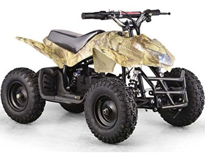 Outdoor-Kids-Children-Titan-24V-Oak-Mini-Quad-ATV-Dirt-Motor-Bike-Electric-Battery-Powered