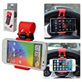 First2savvv universal Steering Wheel in Car Mount Clip Holder For ALCATEL IDOL2 MINI POP C2 POP D1 POP D3 POP D5 FIRE C FIRE E IDOL 2 MINI L POD 2 (4.5) HERO 2