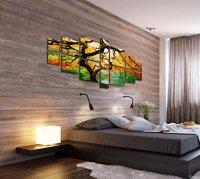 Startonight Canvas Wall Art Maple Multi, Nature Tree ...