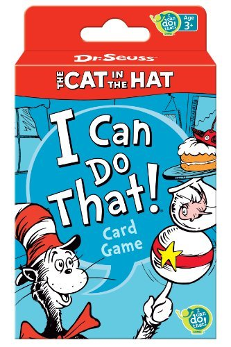 Dr. Seuss Cat in the Hat Card Game by Wonder Forge [並行輸入品]