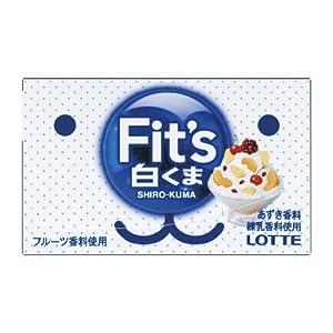 ロッテ Fit's<白くま data-recalc-dims=