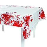 """Halloween Zombie Apocalypse Party Blood Spattered Table Cover-54"""" x 108"""""""