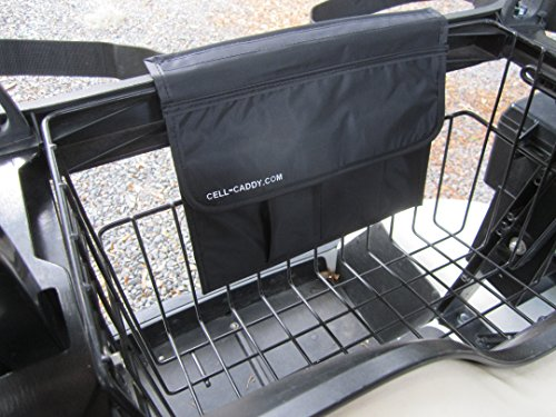 Cell Caddy Golf Cart 4 Pocket Cell Phone Storage Sporting