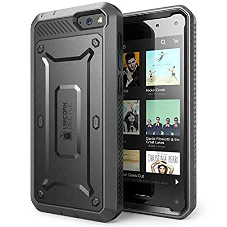 Compatibility:Compatible with Amazon Fire Phone 2014 release, allowing full access to touchscreen, camera, buttons, and ports.Materials:High grade polycarbonate + thermoplastic polyurethane for shock absorption. Front cover with built-in screen prote...