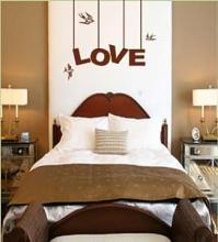 Amazon.com: Vinyl Wall Art Decal Sticker Love Hanging Sign ...
