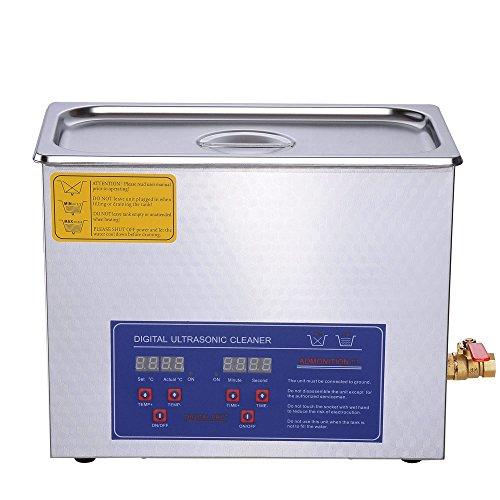 Aw 6l Liter Stainless Steel 380 Watt Ultrasonic Cleaner W