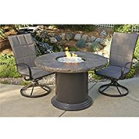 Amazon.com: Colonial Fire Pit Dining Table: Patio, Lawn ...