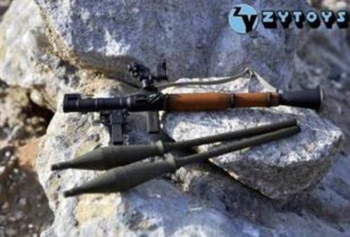 バズーカ砲 RPG-7 ライフルガンフィギュア模型銃 1/6