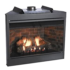 Amazoncom Premium Mv 42 Inch Louver B Vent Fireplace