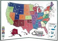 Amazon.com: Littleton 50 State Quarter Display Map Folder ...