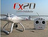 Successory® Cheerson CX-20 Auto-Pathfinder FPV RC Quadcopter with GPS Auto-return Function RTF White