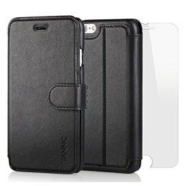 TANNC-Cover-iPhone-6S-Plus-iPhone-6-Plus-in-Pelle-Con-Magnete-e-Supporto-Orizzontale-Caratteristiche-della-Cover-per-iPhone-6-Plus-iPhone-6S-Plus-Nero