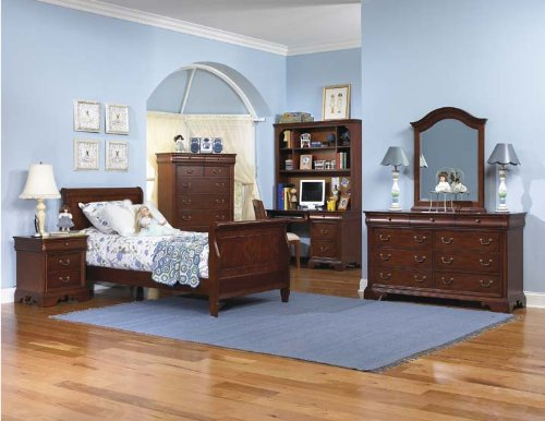 Image of 493 Cambridge Court Sleigh Bedroom Set by Legacy Classic Kids (B0030ND0JC)