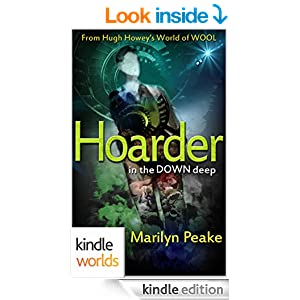 hoarder sci fi book cover