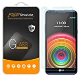 [2-Pack] LG X Power Tempered Glass Screen Protector, Supershieldz Anti-Scratch, Anti-Fingerprint, Bubble Free, Lifetime Replacement Warranty