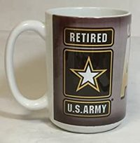 Amazon.com: Retired United States Army Oversized 15 oz ...