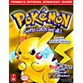 Pokemon Yellow Prima S Ficial Strategy Guide Paperback By