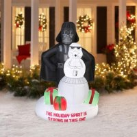 Star Wars Outdoor Christmas Inflatables | Christmas Wikii