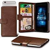 Huawei Enjoy 5s Adjustable Spring Wallet ID Card Holder Case Cover (Brown) Plus Free Gift, Screen Protector and a Stylus Pen, Order Now Best Valued Phone Case on Amazon! By FinestPhoneCases
