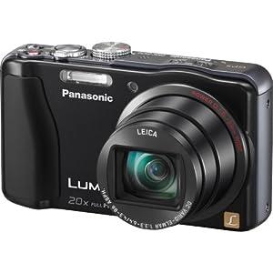 Panasonic Lumix ZS20 14.1 MP High Sensitivity MOS Digital Camera with 20x Optical Zoom (Black)