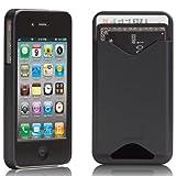 Case-Mate iPhone4 専用 カードホルダー付ハードケース ID Case マット・ブラック CM011678