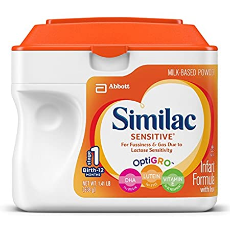 Complete Nutrition for Sensitive Tummies   Most babies are fussy and gassy at times. But if it seems your baby has more frequent fussiness and gas, it could be a sign that he might need another baby formula. You can trust Similac Se...