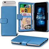 Lenovo S60 Adjustable Spring Wallet ID Card Holder Case Cover (Baby Blue) Plus a FREE Stylus Pen. Get Best Valued Case On Amazon Now - By FinestPhoneCases