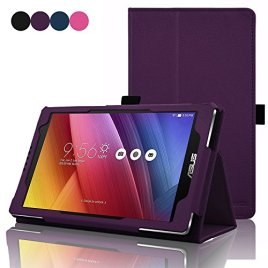 ACdream-Asus-Zenpad-70-Case-Protective-Folio-Premium-PU-Leather-Cover-Case-for-ASUS-ZENPAD-Z170C-A1-BK-7-Tablet-2015-Version-Will-Not-Fit-Other-Devices-Dark-Purple