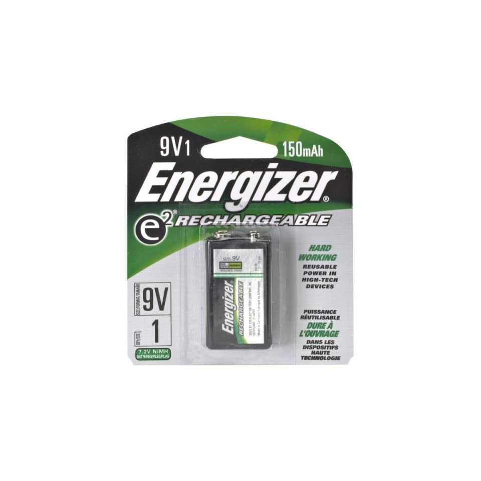 Accu Rechargeable Energizer Nh22bp Accu 9 Volt Rechargeable Battery On Popscreen