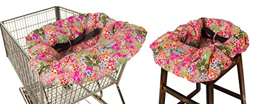 Itzy Ritzy Sitzy Shopping Cart And High Chair Cover Perky