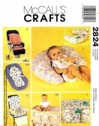 BABY CARGO PATTERN HIGH CHAIR | Sewing Patterns for Baby