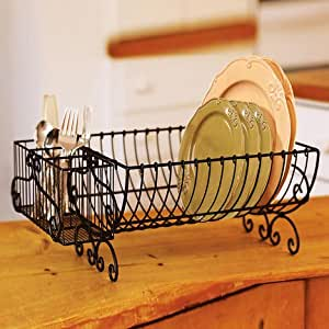 Buy Asian Arts Plates Dish Stand Plate Rack Ironblack