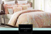 Cynthia Rowley King or Queen Duvet Cover Set Paisley Large ...