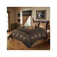 #Reviews Laredo Chocolate Western Star Comforter Set